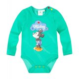 Body cu maneca lunga Disney Mickey verde